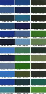 Blue Green Colour Online Charts Collection