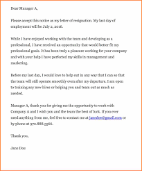 7 Thank You Resignation Letter Resign Letter Job