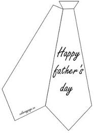 Small Picture Heres a printable tie template for all of your Fathers Day