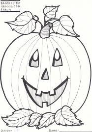 Small Picture Pumpkin Coloring Pages Bestofcoloringcom