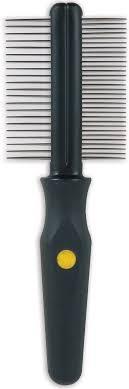 <b>Расческа</b> для собак <b>J.W.</b> Grip Soft <b>Dog</b> Double Sided Comb ...