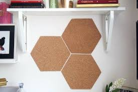 large cork board for wall a quick and easy hexagon cork board large cork board wall