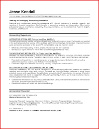 Inspirational Accounting Student Resume Examples Mailing Format