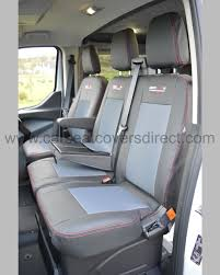 ford transit custom seat cover front seats with cup holders