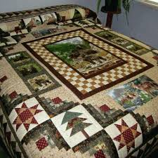 Best 25+ Panel quilts ideas on Pinterest | Fabric panel quilts ... & Wildlife Quilt; Designed and pieced by Lucy Maust Quilted by Esther B.  Yoder. Adamdwight.com
