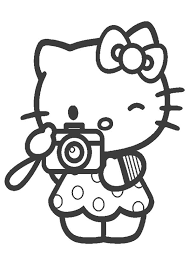 ⭐ free printable hello kitty coloring book. 75 Cute Hello Kitty Coloring Pages Your Toddler Will Love Hello Kitty Colouring Pages Kitty Coloring Hello Kitty Coloring