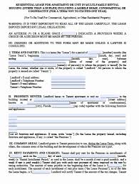 Commercial Lease Agreement Florida Lovely Rental Lease Template ...