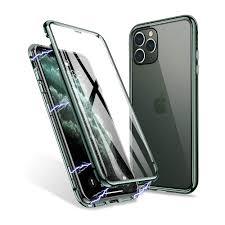 <b>360</b>° <b>Magnetic Case</b> - iPhone 11 Pro khaki/transparent