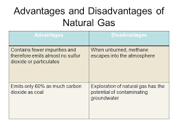 Advantages And Disadvantages Of Natural Gas Advantages And Disadvantages Of Natural Environment