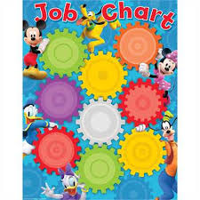 Mickey Mouse Clubhouse Job Chart