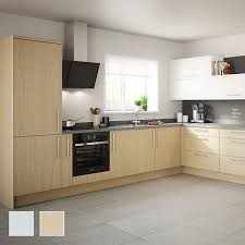 Fitted kitchens uk Luna Matt Grey Sandford Fitted Kitchens Traditional Contemporary Kitchens Diy At Bq