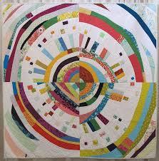 796 best Circular quilt blocks images on Pinterest | Quilt block ... & Enthusiasm by Rossie Hutchinson, pieced by Jenna Brand, Lynn Harris, Emily  Schildhouse, Adamdwight.com