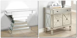 mirrored furniture. 3-2-mirrored-furniture-in-interior-design-console- Mirrored Furniture -