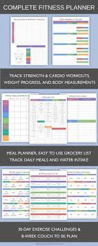 Workout Schedule Template | Someone, Please Make Me! | Pinterest ...