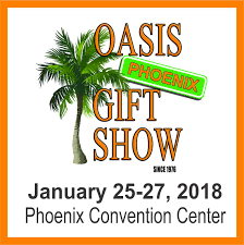 oasis gift show phx convention ctr south hall 33 north third street phoenix az 85004 january 25 27 2018 booth 429