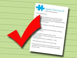 how to write a cleaning bid steps pictures wikihow