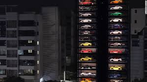 Autobahn Vending Machine Simple This 48foottall 'vending Machine' Will Serve You A Ferrari