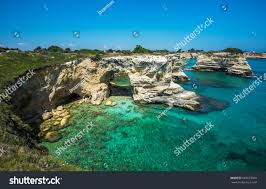 Torre Sant Andrea Rocky Beach Puglia Stock Photo (Edit Now) 569575069