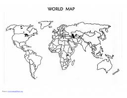 Coloring Pages Coloring World Map Printable Blank Countries Design
