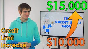 Asking For Credit Line Increase How To Get A Credit Limit Increase Youtube