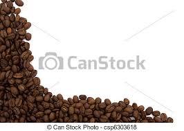 coffee beans border clipart.  Coffee Coffee Bean Border  Csp6303618 Throughout Beans Clipart E