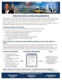 Veasey Updated Requirements Voting Texas 2016 Congressman Marc