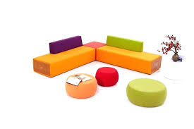 modern office sofa. Modern Office Sofa Designs Furniture Colorful Lobby Design Fabric Combination Sofas Set Breakout