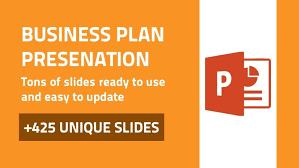 ppt business plan presentation business plan modern powerpoint design deck data visualization