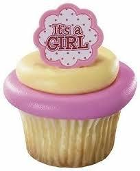 baby shower cupcake picks ebay