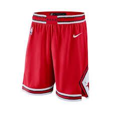 Adidas Nba Shorts Size Chart Chicago Bulls Icon Edition Swingman Mens Nike Nba Shorts In