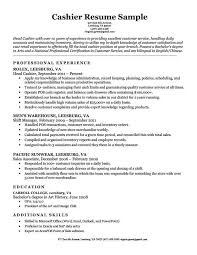 Cashier Resume Sample Cashier Resume Sample 24160627018 Cashier Resume Template