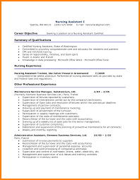 12 Cna Resume Samples Activo Holidays