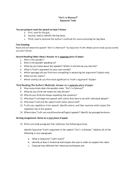 sojourner truth assignment