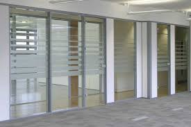 image of interior glass office door drywall glass entrance systems for hallways and offices