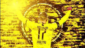 Football posters for real football fans. Haaland Incredible Wallpaper Design Photoshop Speedart Youtube