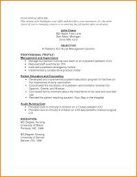 Registered Nurse Resume Samples Free Sidemcicek Com