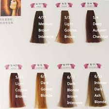 Colorly 2020 Colour Chart Italy Hair Color Chart Sbiroregon Org