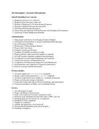 Sample Resume For Housekeeping Job In Hotel Hospital Housekeeping