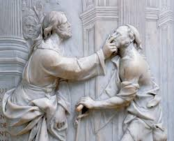 Image result for picture of person being healed by jesus