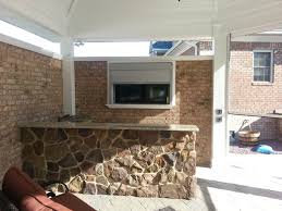Outdoor Kitchens Sarasota Fl Protect Outdoor Tv In Outdoor Kitchen Security Shutters