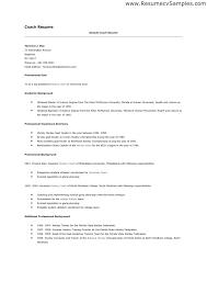 Football Coaching Resume Template Football Coach Resume Sample Samples Is Cv Template Career