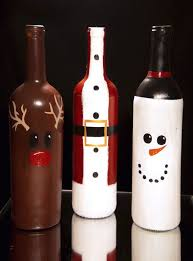 Christmas 2017  Imagem relacionada. Christmas Wine BottlesDiy ...
