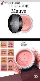 Avon Smooth Minerals Blush In Blushing Mauve New Avon True