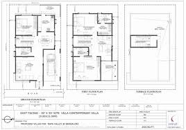 30x50 duplex house plans south facing east site west for luxury idea beauteous floor