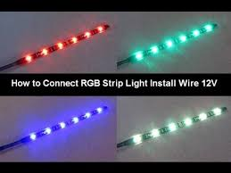 how to connect power led strip rgb lighting 12v tips and tricks how to connect power led strip rgb lighting 12v tips and tricks