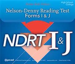 Nelson Denny Score Chart Nelson Denny Reading Test Ndrt