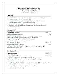 Libreoffice Resume Template Interesting Office Template Resume Resume Tutorial Pro
