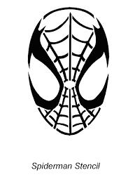 Free spiderman pumpkin stencil carving pattern designs for download 5 free spiderman pumpkin stencil carving pattern designs for on scary pumpkin stencils free printable
