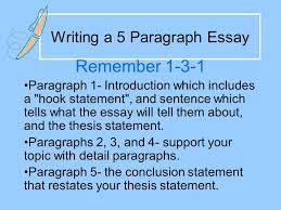 writing a paragraph essay ppt video online  writing a 5 paragraph essay
