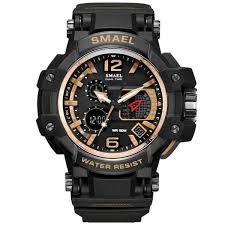 <b>Men Watches</b> White Sport <b>Watch</b> LED Digital <b>50M Waterproof</b> ...